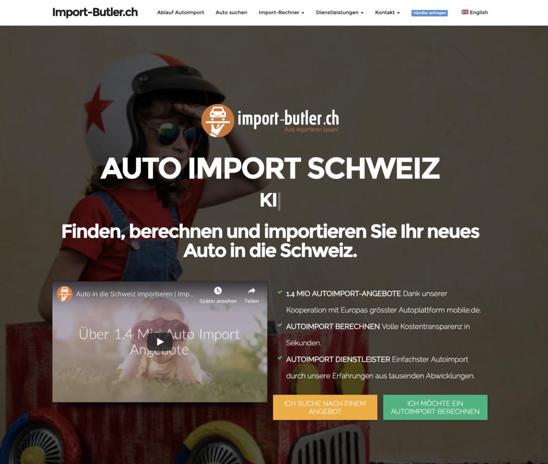Import Butler Projekt