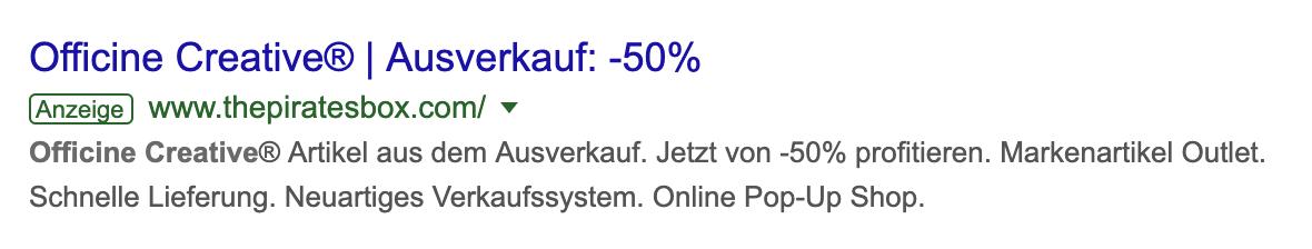 Google Ads - Kampagnen
