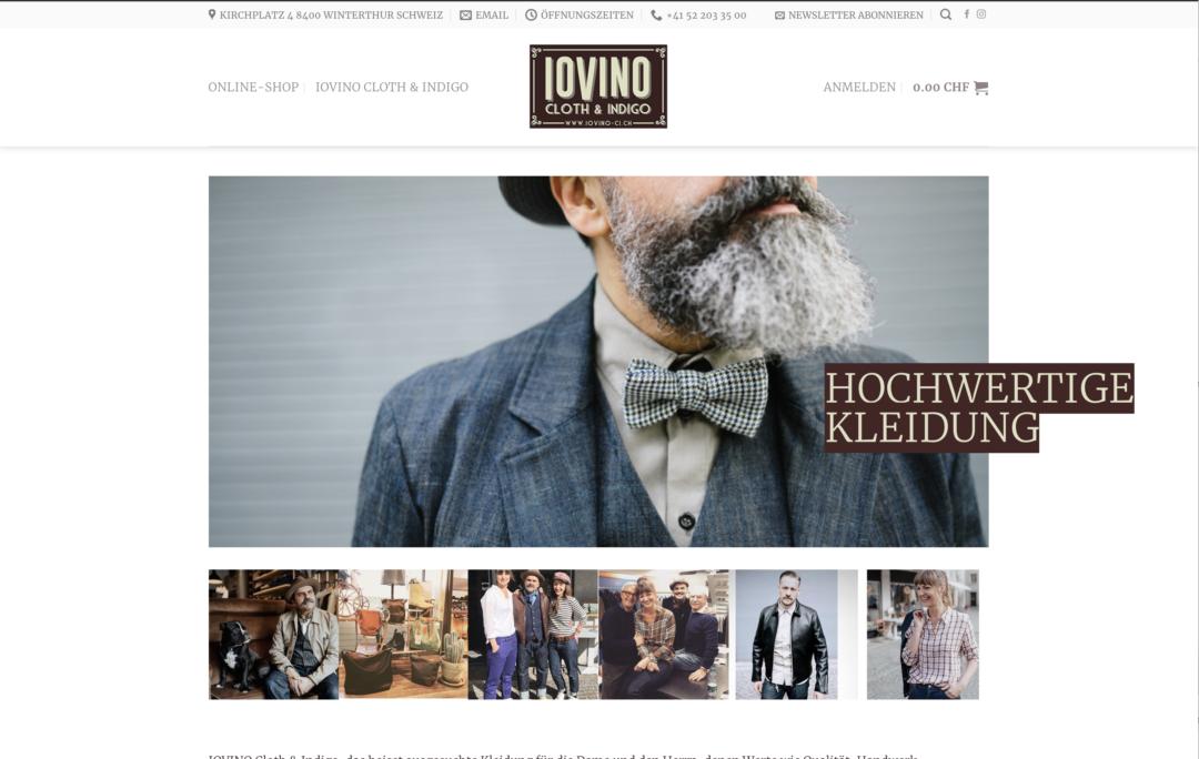 Iovino Cloth & Indigo